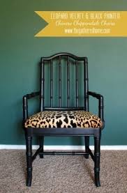 Leopard Print Dining Chairs Foter - Animal print dining room chairs
