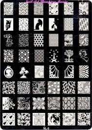 nail art 48 staggering nail art stamping plates images concept