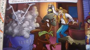 scooby doo thanksgiving read a storybook along with me scooby doo and the phantom cowboy