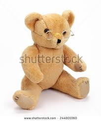 teddy with glasses stock images royalty free images