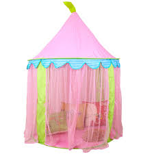 impeccable children kids girls play tent princess castle toy fable