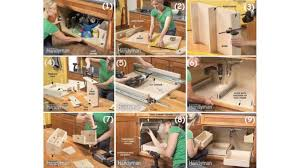 Diy Build Kitchen Cabinets Diy Storage Ideas How To Build Kitchen Storage Under The Sink Over