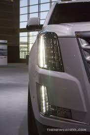 cadillac escalade headlights 2017 cadillac escalade vertical headlights the wheel