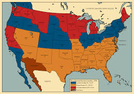 1996 Presidential Election Map by Alternate Electoral Maps Page 128 Alternate History Discussion