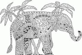 geometric animal coloring pages kids coloring home