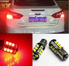 ford focus tail light bulb 2 x 1157 bay15d p21 5w canbus led stop tail bulbs brake lights bulb