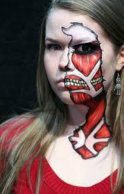 100 halloween half face paint ideas dead face makeup sugar