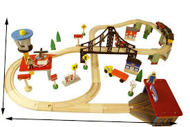 Making Wooden Toy Train Tracks by Compare Prices On Wooden Railway Toys Online Shopping Buy Low