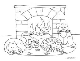 cozy winter fire jpg pdf 469242 coloring pages for free 2015