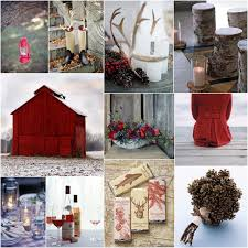 rustic winter wedding theme decoration ideaswedwebtalks wedwebtalks