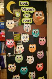 Owl Decorations For Home by Best 25 Owl Classroom Door Ideas That You Will Like On Pinterest