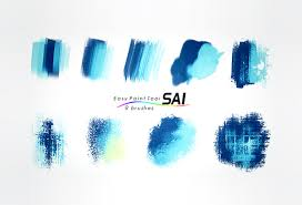 9 paint tool sai brushes on behance