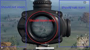pubg 8x scope ingame zooming gameplay playerunknown s battlegrounds forums