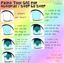 paint tool sai eye tutorial by nyobikocchi on deviantart