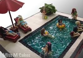 swimming pool cake cakecentral com