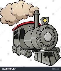 cute cartoon train vector illustration simple stock vector