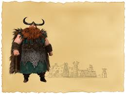characters train dragon vikings