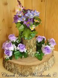 rustic wedding centerpieces tree branch flower holders