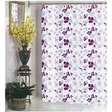 amazon com joanne fabric shower curtain purple lilac pink maroon