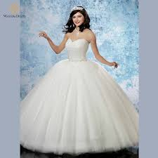 poofy wedding dresses aliexpress buy 2016 princess gown