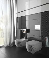 white bathroom tile ideas tags bathroom black and white tile