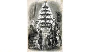 the origin and history of the christmas tree from paganism to