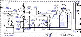 wireless set a spy radio circuits transmitter circuit diagram