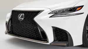 lexus sports car white 2018 lexus ls 500 f sport adds giddy up to posh flagship roadshow