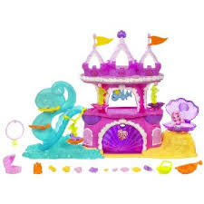 mlp wedding castle my pony mermaid pony playset toys