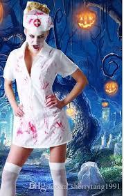 Ghost Bride Halloween Costume Halloween Costume Horror Bloody Doctor Bloody Nurse Ghost Bride