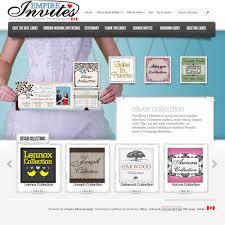 wedding invitations edmonton online winnipeg wedding invitations canada empire invites