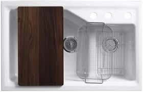 Kohler K 6625 by Kohler K 6411 3 0 Indio Undercounter Double Offset Basin Kitchen
