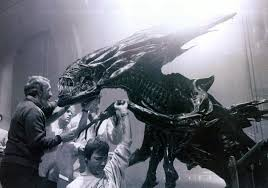 image movies grayscale xenomorph alien queen movie making of