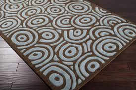 Chocolate Brown Area Rugs Rugs Lovely Area The Rug Company In Blue And Brown Decor 11