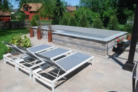 swim spa landscaping ideas backyard fence ideas