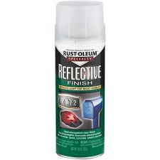 rust oleum reflective finish spray paint walmart com