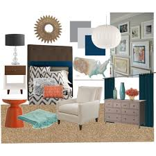 Turquoise And Coral Bedroom Navy Teal Grey Coral Bedroom Polyvore