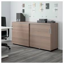 Office Cabinet With Doors Galant Cabinet With Sliding Doors White Ikea