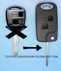 lexus key shell replacement housing folding flip remote key shell keykess case fob