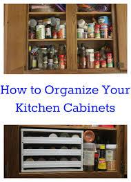 Organize Kitchen Ideas How To Organize Kitchen Cabinets House Organization Pinterest