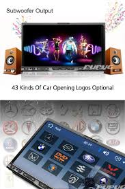 amazon com 7 inch double din car gps navigation dvd video player