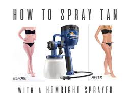 How To Get A Spray Tan Diy Spray Tan With A Paint Sprayer All Things Thrifty
