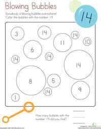 coloring 14 blowing bubbles worksheet education com