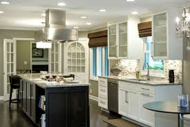 white hang lamp on the white ceiling of kitchen islands hoods white ceiling of kitchen islands hoods combined with black cabinet on the wooden floor with small