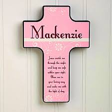 wall crosses personalized kids wall cross keep me safe