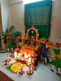 Home Decoration In Diwali During Deepawali Festival Of Lights Traditional Designs Called