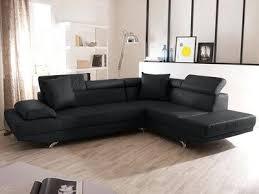 canapé cuir noir design canapes cuir design efunk info