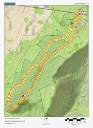Michaux State Forest Map by Mountain Stream Flood Pen Mar High Rock Map