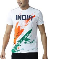 Flag Clothing Indian Tricolour Round Neck T Shirt Amazon In Clothing U0026 Accessories