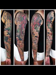 japanese dragon sleeve tattoo google search tattoos